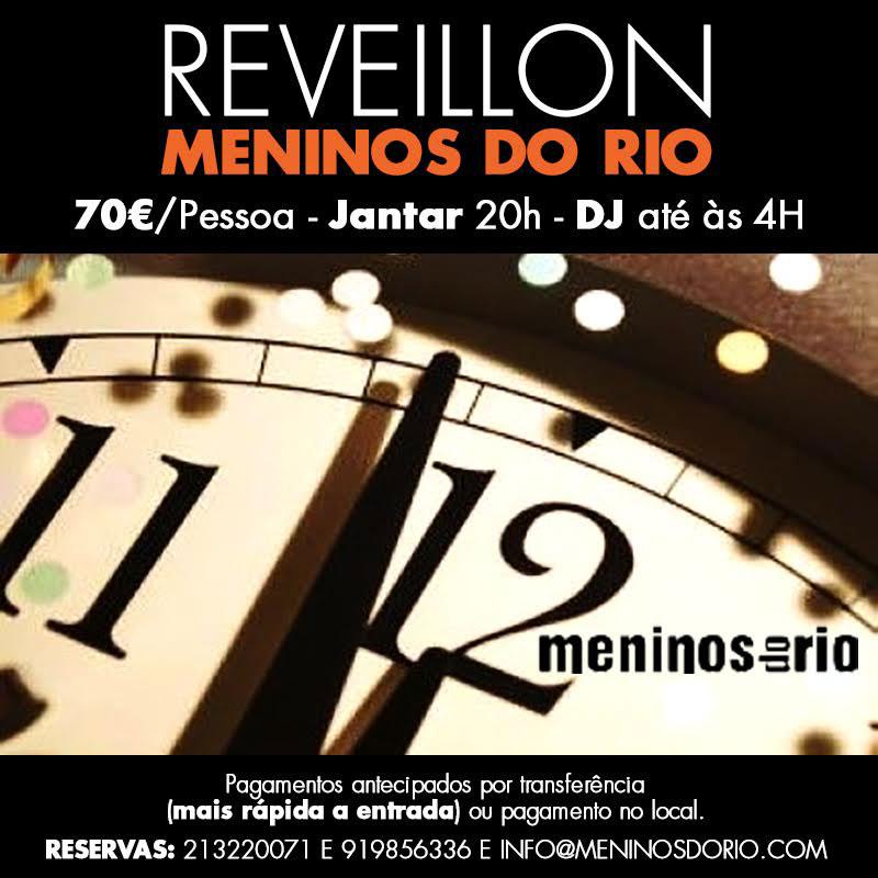 Reveillon 2015 no Meninos do Rio